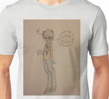 Hipster Goat Kid Unisex T-Shirt