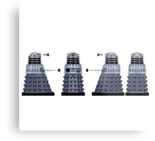 Doctor who Daleks design  Metal Print