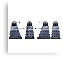 Doctor who Daleks design  Canvas Print