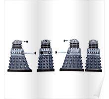 Doctor who Daleks design  Poster
