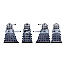 Doctor who Daleks design  Photographic Print