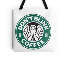 Weeping Angel of Original Starbucks Logo Tote Bag