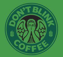 Weeping Angel of Original Starbucks Logo Kids Clothes