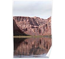 Canyon Reflections Poster