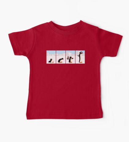 The penguin evolution Baby Tee