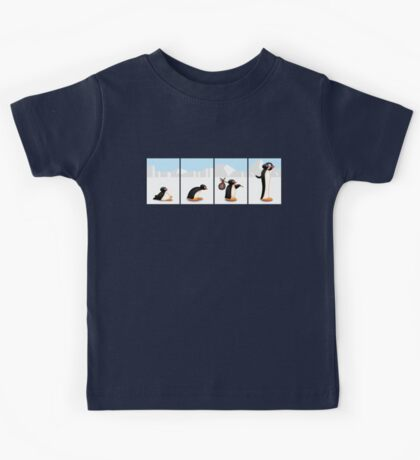 The penguin evolution Kids Tee
