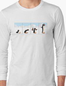 The penguin evolution Long Sleeve T-Shirt