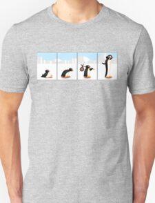 The penguin evolution Unisex T-Shirt