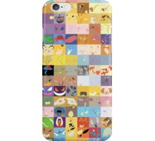 All 150 Catchable Pokemon Wallpapers iPhone Case/Skin