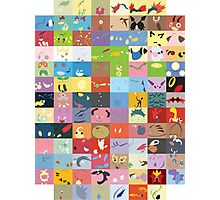 All Johto Wallpapers Photographic Print