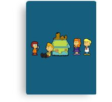 Shaggy Brown and The Scooby Crew  Canvas Print