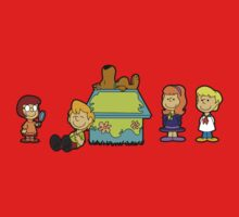 Shaggy Brown and The Scooby Crew  One Piece - Short Sleeve