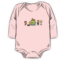 Shaggy Brown and The Scooby Crew  One Piece - Long Sleeve