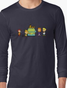 Shaggy Brown and The Scooby Crew  Long Sleeve T-Shirt