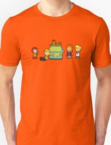 Shaggy Brown and The Scooby Crew  T-Shirt