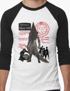 Silent Hill Men's Baseball ¾ T-Shirt