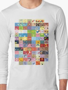 All Johto Wallpapers Long Sleeve T-Shirt