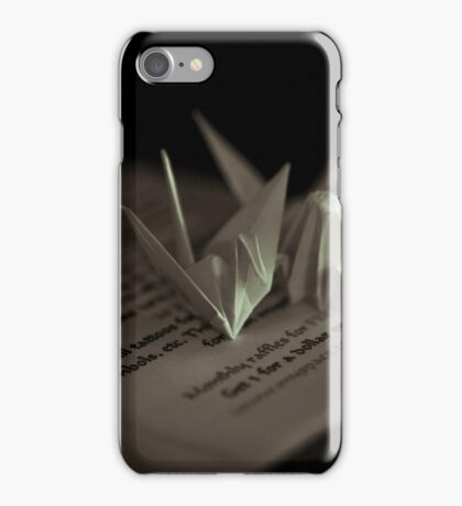 Paper Cranes iPhone Case/Skin