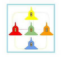 5 Buddhism Stupas by senysurani