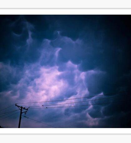 Mammatus Clouds Sticker