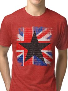 David Bowie Black Star Space Oddity Tri-blend T-Shirt