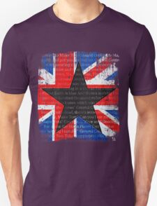 David Bowie Black Star Space Oddity T-Shirt