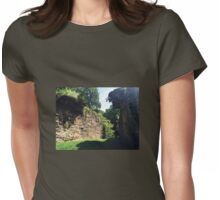 stone wall Womens Fitted T-Shirt