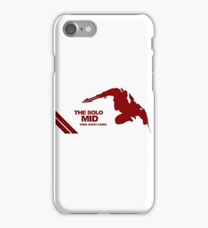The Solo Mid League of Legend Zed iPhone Case/Skin