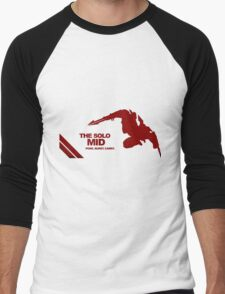 The Solo Mid League of Legend Zed Men's Baseball ¾ T-Shirt