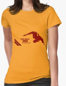 The Solo Mid League of Legend Zed Womens Fitted T-Shirt