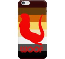 brown flag otter iPhone Case/Skin