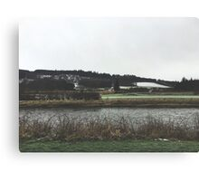 Scottish Country Canvas Print