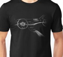 mercedes benz e class, cockpit Unisex T-Shirt
