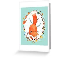 Sleeping Forest Greeting Card