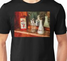 Barber - On a barbers counter  Unisex T-Shirt