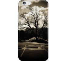 Tree of lake michigan iPhone Case/Skin