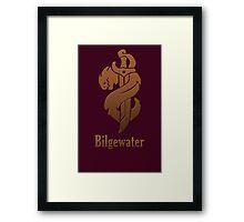 Bilgewater Framed Print