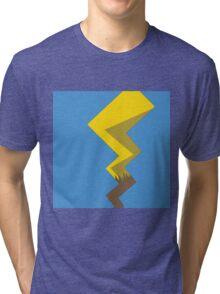 Minimalist Pikachu Tail Tri-blend T-Shirt