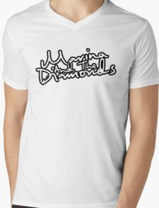 Marina and the Diamonds Logo Mens V-Neck T-Shirt