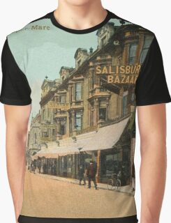 1890s Weston-Super-Mare Regent Street Graphic T-Shirt