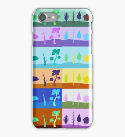 Colors of the seasons iPhone Case/Skin