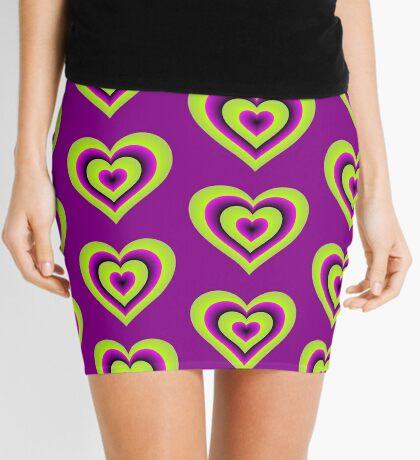 Expanding Heart Mini Skirt