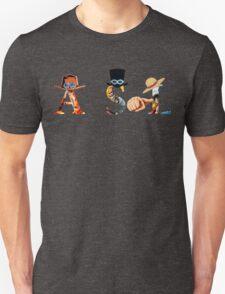 ace sabo luffy logo Unisex T-Shirt