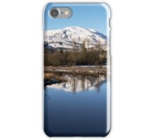 Winter Wonderland in Callander iPhone Case/Skin