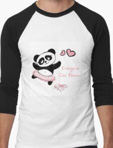 Panda Girl ballet dancer hand drawn T-Shirt