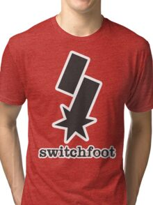 """Switchfoot """"S"""" Logo (Gray) Tri-blend T-Shirt"""