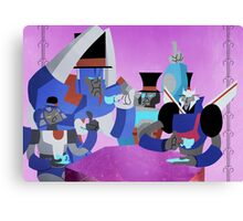 Transformers tea time Canvas Print