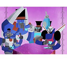 Transformers tea time Photographic Print