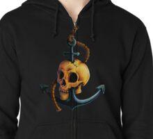 Skullchor Zipped Hoodie