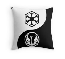 Ying and Yang, The Republic and the Empire Throw Pillow